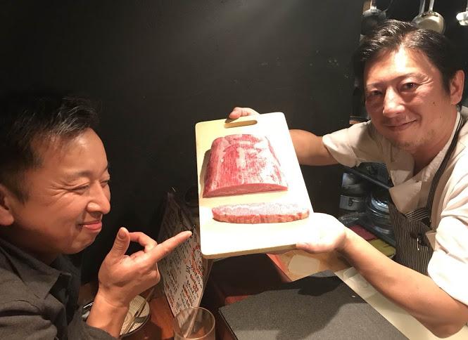 榎田隆ちゃんと前沢牛