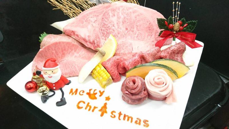 クリスマス盛り去年バージョン