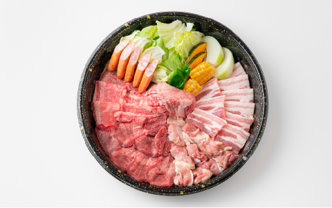 カルビ・豚カルビ・さざなみ鶏・タレタン・ゲタカルビ・ウインナー